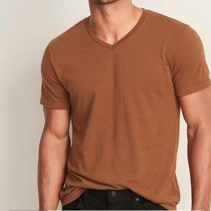 Men's short sleeve tee- Rust color